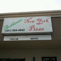 Photo taken at Authentic New York Pizza by Harry H. on 12/15/2011