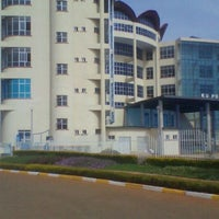 Photo taken at Kenyatta University Post Modern Library by Wemo K. on 1/16/2012