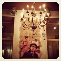 Photo taken at Hotel Justus Riga by Kate S. on 12/30/2011