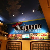 Photo taken at Blue Iguana Mexican Express by Scott C. on 8/19/2011