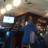 Photo taken at Tigín Irish Pub & Restaurant by Michael G. on 12/3/2011