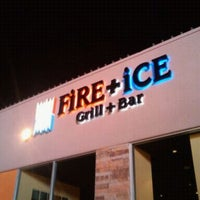 Photo taken at FiRE + iCE Grill + Bar by Jackie B. on 11/11/2011