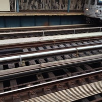 Photo taken at MTA Subway - 111th St/Greenwood Ave (A) by Tyler T. on 11/29/2011