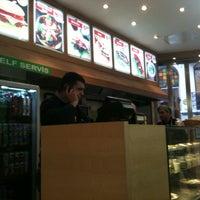 Photo taken at Pita Khubiz Cafe by BERRA S. on 11/13/2011