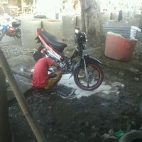 Photo taken at Pelabuhan Kayu Kalibaru by Brand C. on 5/17/2012
