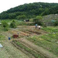 Photo taken at 기장 도시생명텃밭 by Marie K. on 5/13/2012
