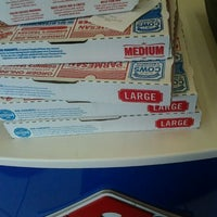 Photo taken at Domino's Pizza by robb r. on 3/20/2012