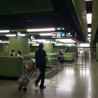 Photo taken at MTR Wan Chai Station by Patrick S. on 3/26/2011
