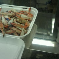 Photo taken at Jackie's Seafood Market by Cathi D. on 10/15/2011