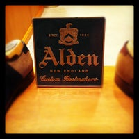 Photo taken at Alden New England Shoes by Alden F. on 1/28/2012