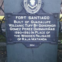 Foto tirada no(a) Fort Santiago por oblakalbo em 1/4/2012