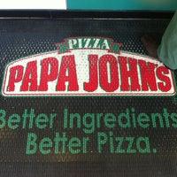 Photo taken at Papa John's by Silvia P. on 1/17/2012