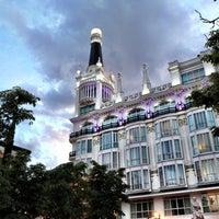 Photo taken at Plaza de Santa Ana by Jota on 4/21/2012