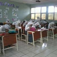 Photo taken at SMAN 1 by Alya A. on 4/2/2012