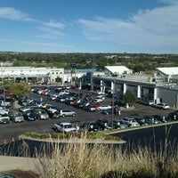 Photo taken at Heuberger Subaru by Ted S. on 10/15/2011