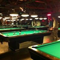 Photo taken at Garage Billiards by Laurel F. on 2/14/2012