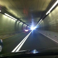 Photo taken at Fort McHenry Tunnel by Karen M. on 4/6/2012