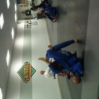Photo taken at Gauntlet Brazilian Jiu Jitsu by Katherine C. on 1/25/2012