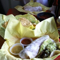 Photo taken at America's Taco Shop by David B. on 12/30/2010