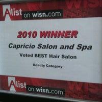 Photo taken at Capricio Salon & Spa by Amanda D. on 11/10/2011