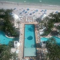 Photo taken at Diplomat Resort & Spa by Doug G. on 1/21/2012