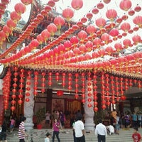 Photo taken at Thean Hou Temple (天后宫) by Carlson K. on 2/15/2011