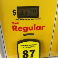 Photo taken at Shell by Dan B. on 6/22/2012