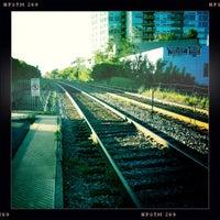 Photo taken at Metra - Evanston (Davis Street) by Eric on 8/14/2011