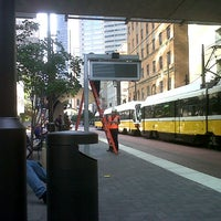 Photo taken at St. Paul Station (DART Rail) by Andrew J. on 8/20/2012