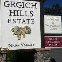 Photo taken at Grgich Hills Estate by Wayne C. on 10/14/2011