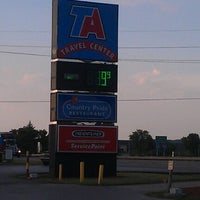 Photo taken at TravelCenters of America by Jessica K. on 7/22/2012