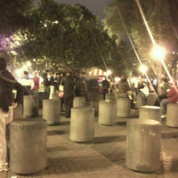 Photo taken at Parque Kennedy by Omar G. on 8/30/2012