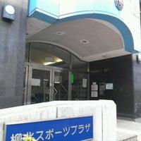 Photo taken at 柳北スポーツプラザプール by genuine_tatsu on 6/30/2012