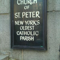 Photo taken at St. Peter's Church (R.C.) by Jonathan J. on 9/19/2011