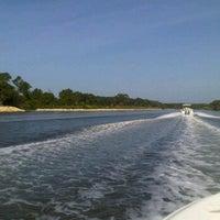Photo taken at The Intercoastal Waterway by Debra B. on 8/21/2011