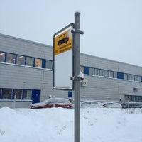 Photo taken at HSL E5217 Mänkimiehentie by Ville M. on 1/25/2012