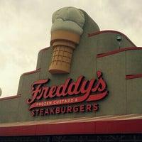 Photo taken at Freddy's Frozen Custard & Steakburgers by Ana A. on 9/7/2012