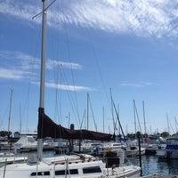 Photo taken at McKinley Marina Center Docks by Beth G. on 7/8/2012