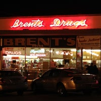 Photo taken at Brent's Drugs by Ashley M. on 4/27/2012