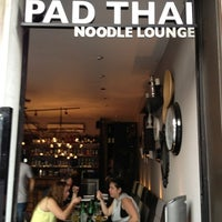 Photo taken at Pad Thai Noodle Lounge by Mark W. on 5/28/2012