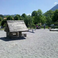 Photo taken at Spielplatz by Christian L. on 5/26/2012