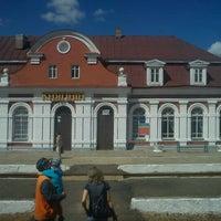 Photo taken at вокзал Княгинин by Źmicier B. on 8/5/2012
