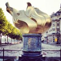 8/12/2012 tarihinde Eric F.ziyaretçi tarafından Flamme de la Liberté'de çekilen fotoğraf