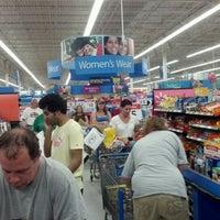 Photo taken at Walmart Supercenter by Brenda K. on 5/4/2012