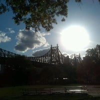Photo taken at Queensbridge Basketball Courts And Playgrounds by Nicola D. on 5/10/2012