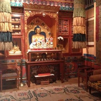 Photo taken at Tibet House US by Zinat M. on 6/1/2012