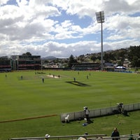 Photo taken at Blundstone Arena by Andrew W. on 2/28/2012