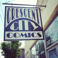 Photo taken at Crescent City Comics by Lance C. on 5/6/2012