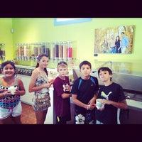 Photo taken at Kuhl Yogurt by Keila B. on 9/2/2012