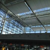 Photo taken at Terminal 2 by Tom H. on 8/22/2012